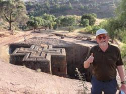 Ortwin at Lalibela