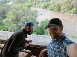 Scott Jablow & friend at Awash NP
