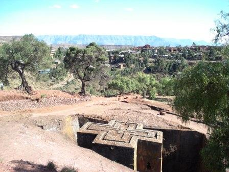St George's church Lalibela