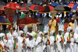 Timket celebration in Lalibela